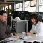Die Bezahlung des Gebrauchtwagens