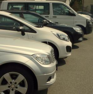 Auswahl des Gebrauchtwagen